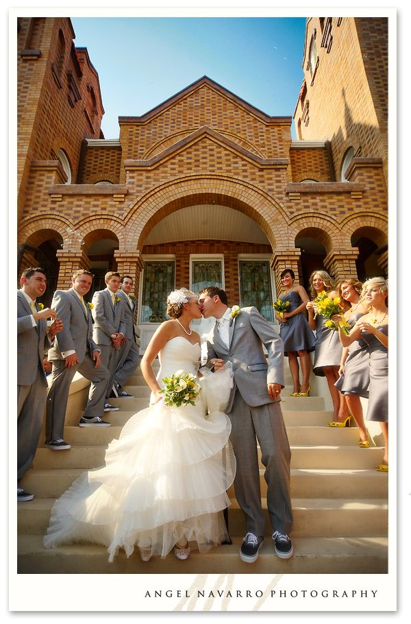 wedding-couple-exiting-church: Wedding Parties, Colors Dresses, Photos Ideas, Michele Photography, Fast Photography, Bridesmaid, Photos Poses, Wedding Couple Exiting Church