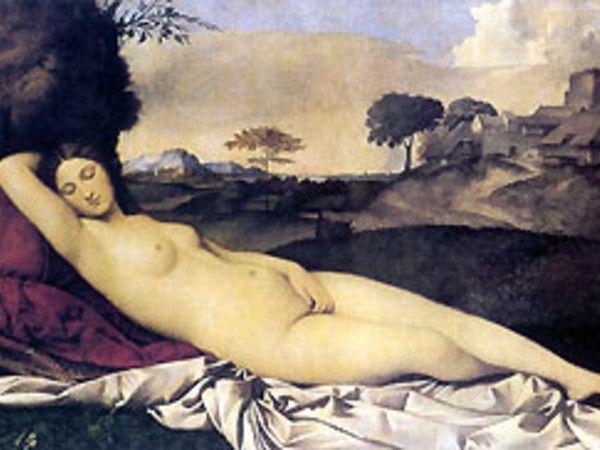 La Madonna con il bambino in paesaggio, opera esposta alla mostra bassanese e che da oltre dieci anni il pubblico italiano non aveva modo di ammirare, introduce ad uno dei temi fondamentali della creatività di Giorgione: l'armonia dell'essere umano con la natura circostante.