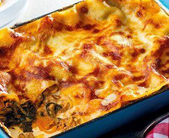Lazania z mięsem i szpinakiem - poczuj włoski klimat!