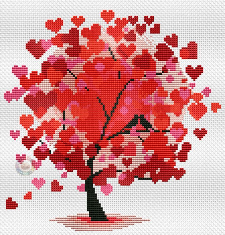 Red tree 5