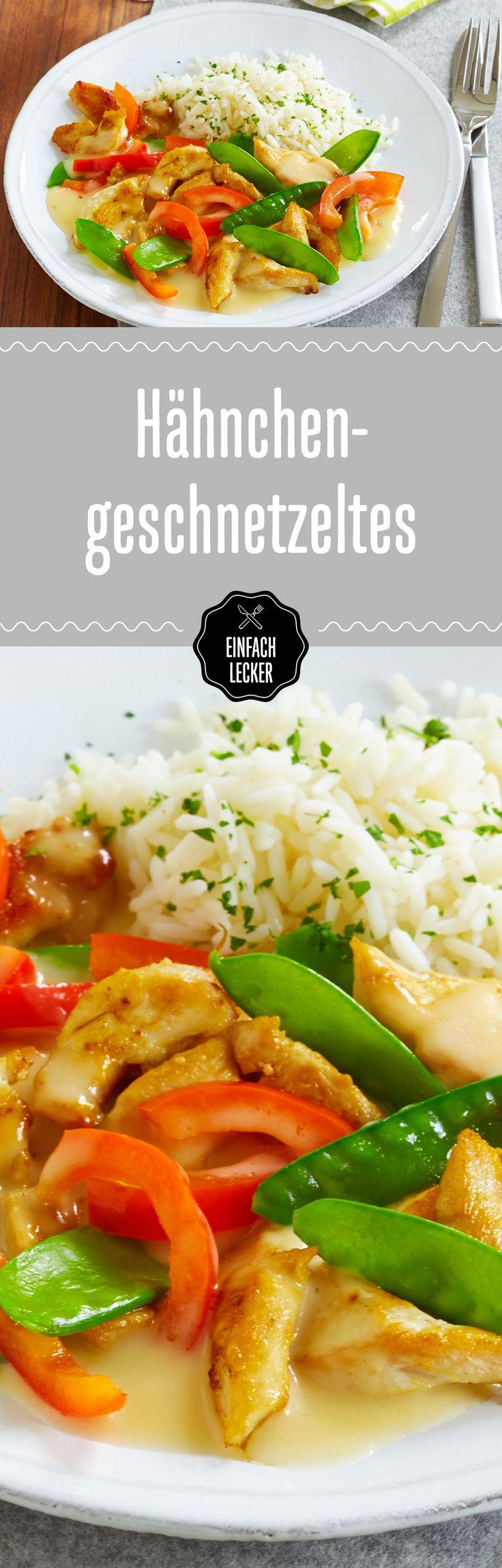 Hauptsache Hähnchen, Nebensache Reis und Gemüse!