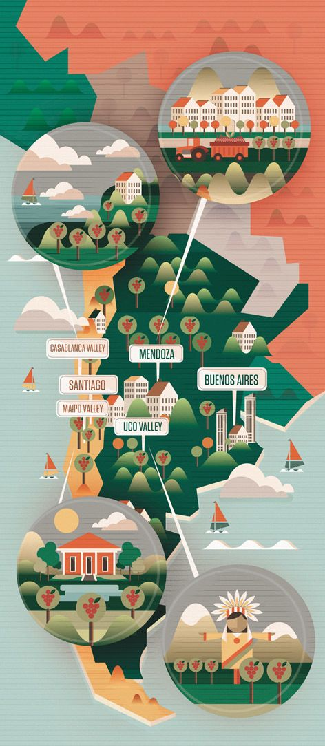Majestic Wines Map Of Argentina Neil Stevens