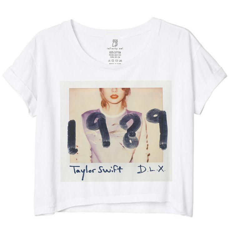 1989 Taylor Swift Crop Tee