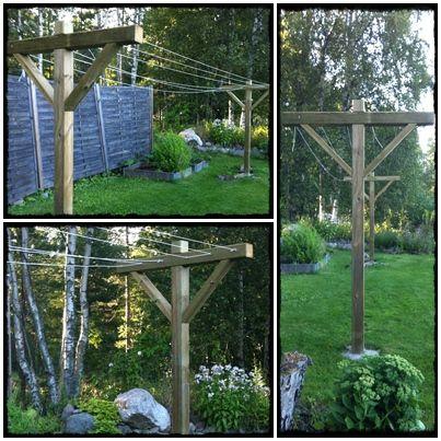 ANNICA: DIY - Bygg din egen torkställning i trä