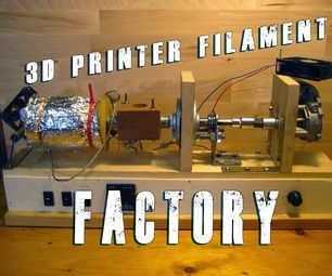 Make your own 3D printer filament ! Cheap and high quality at a decent speed of 150-190 IPM ! (4-5 meters per minute)