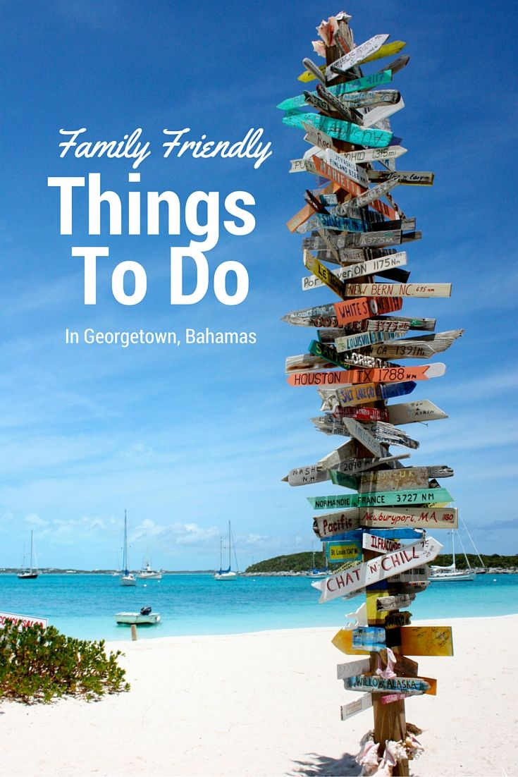 Are you heading to the Bahamas, check out these fun things to do as a family.