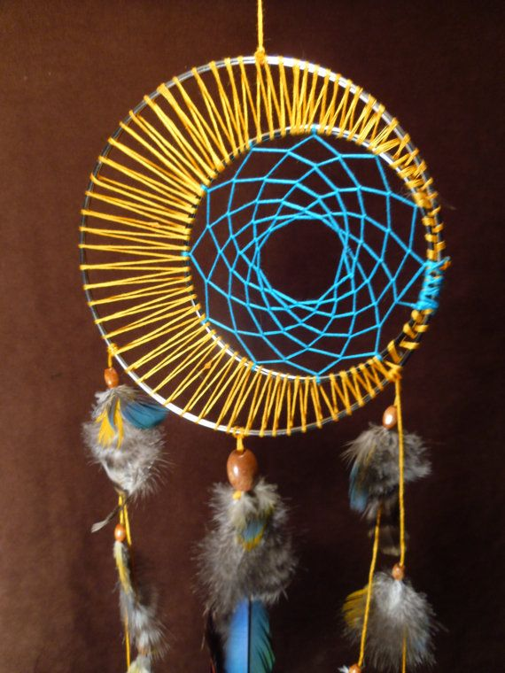 Lovely Dreamcatcher! I made them before, but nothing like this :)