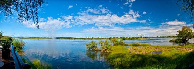 The Mighty Zambezi by aaronvonhagen, via Flickr    http://aaronvonhagen.com      http://on.fb.me/JLbK2B