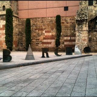 Monument of Barcino, Gothic Quarter, BCN