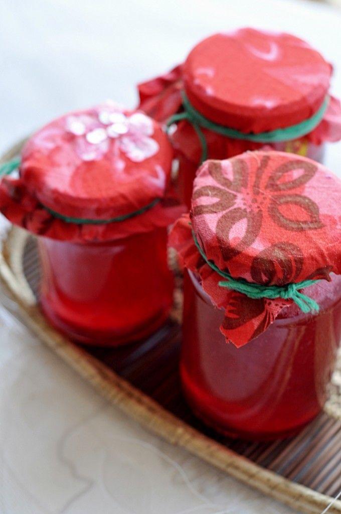 Galaretka z czerwonych porzeczek | Other Favourite Recipes | Pinterest
