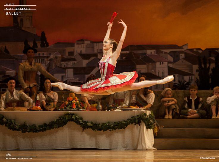 Jurgita Dronina in Dutch National Ballet's Don #Quichot - #ballet #DonQ #JurgitaDronina