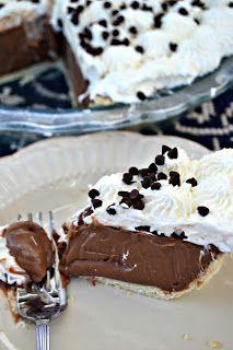 Chocolate Cream Pie Recipe, From Scratch – Lou Lou Girls