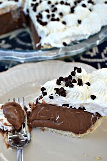 Chocolate Cream Pie Recipe, From Scratch – Lou Lou Girls