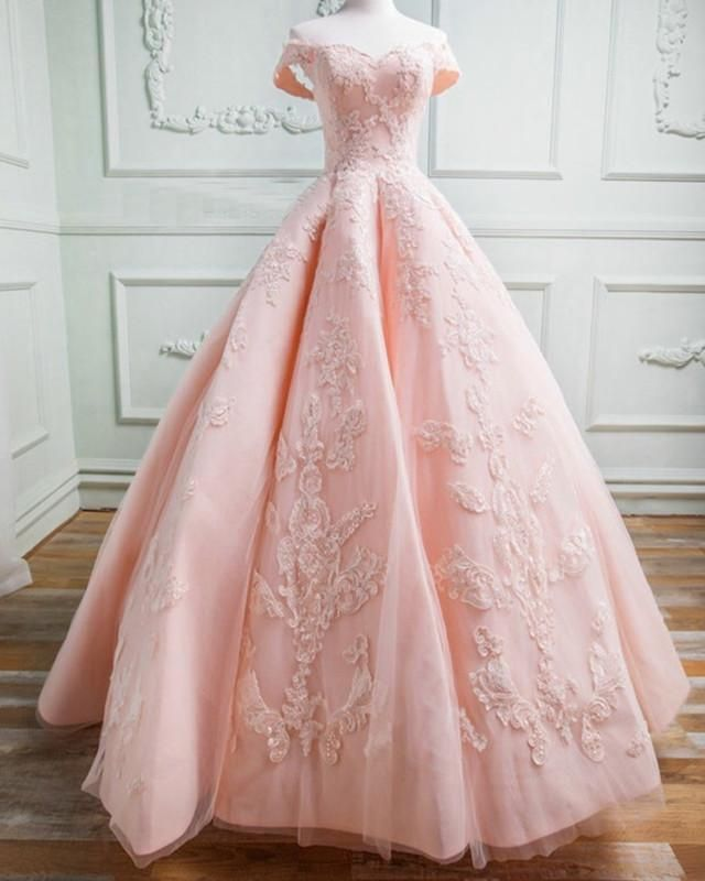 7f13e8a112 Sweetheart Off The Shoulder Tulle And Satin Ball Gowns Prom Dresses Lace  Appliques