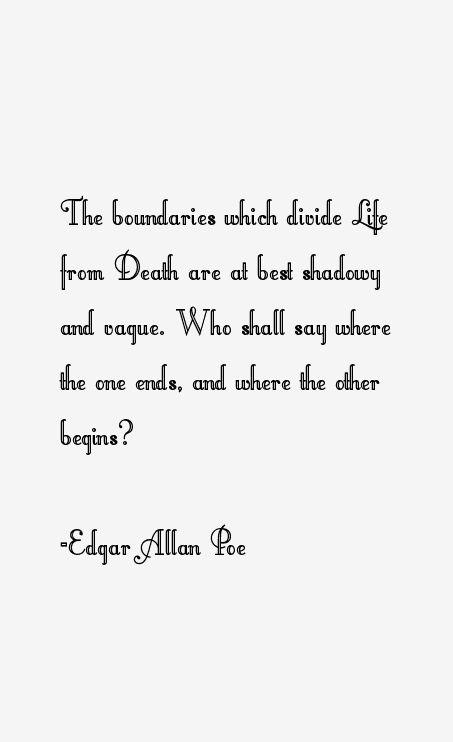 A glimpse into the brilliant mind of edgar allan poe