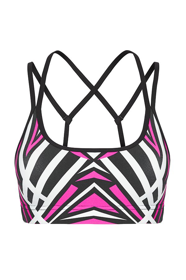 Electric Aztec Bra | Uniquely Sports Bras | Uniquely Lorna Jane | Categories | Lorna Jane Site