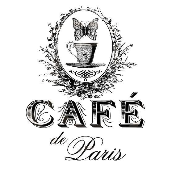 Vintage Parisian Cafe Printable - facilisimo.com