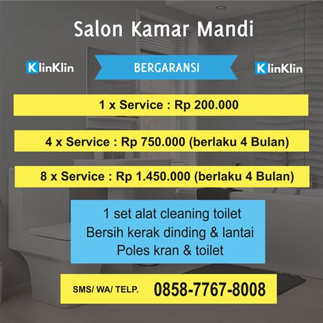 Harga Jasa Bersih Kamar Mandi Solo