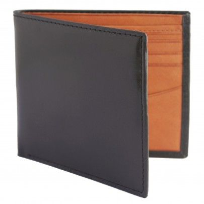 Black and Brown Coloured Genuine Leather Wallet