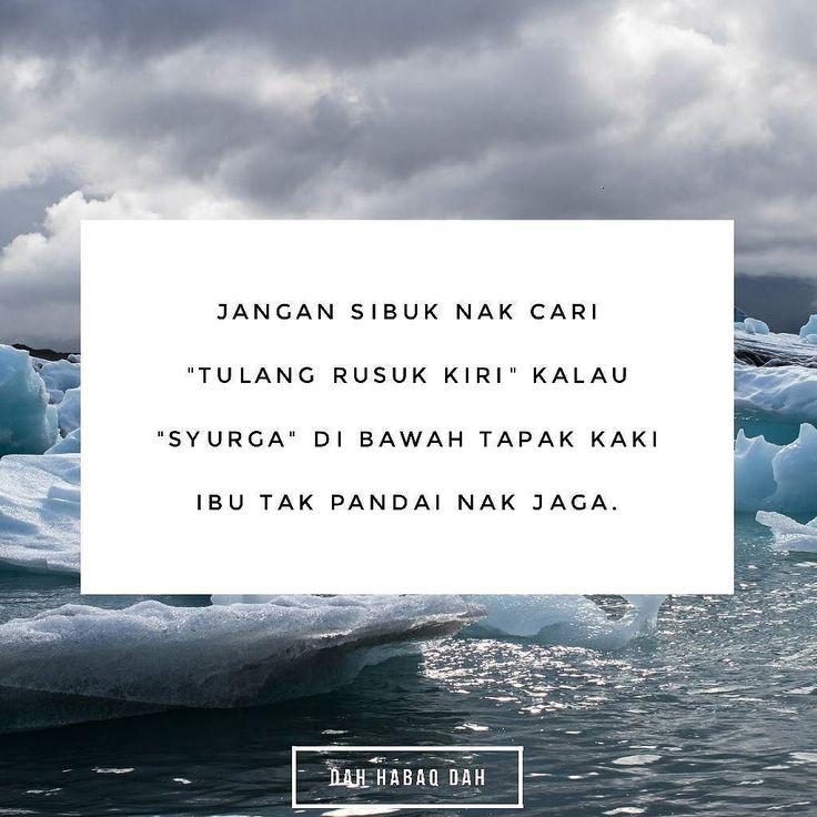 """Jaga """"syurga"""" dulu baru cari """"tulang rusuk kiri"""". #DahHabaqDah - Tag Kawan Hangpa"""