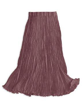 Silk Broomstick Skirt 56