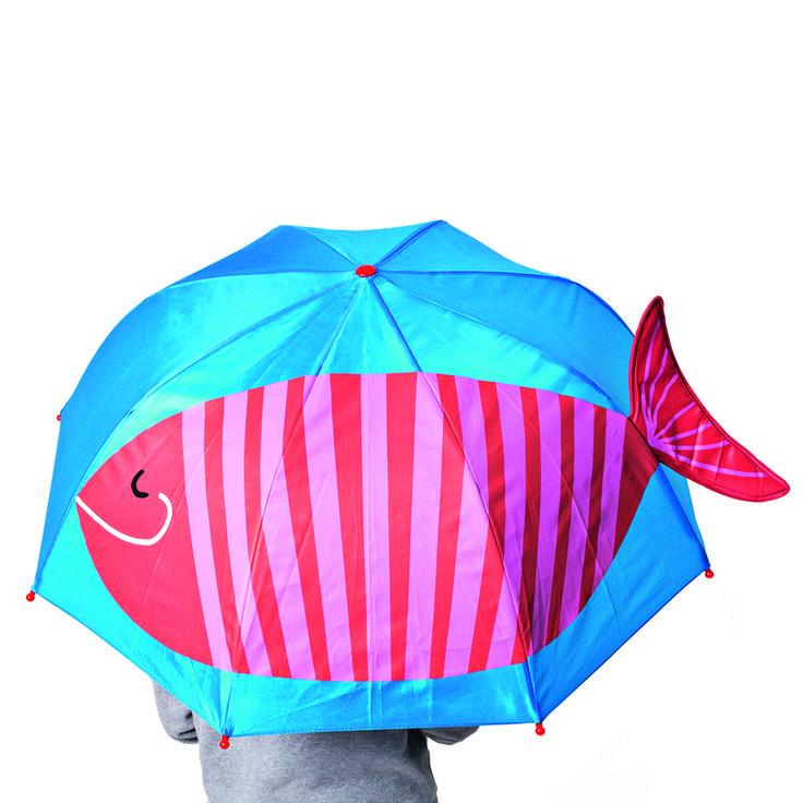 Parasol dziecięcy z rybą #umbrella #parasol #ryba
