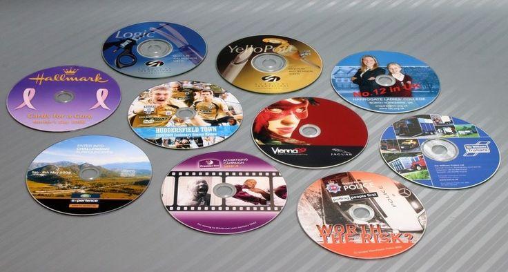 Personalized Custom Blu-Ray BD-R Disc 25GB 4x-Speed Image Printing Laser Ink Jet