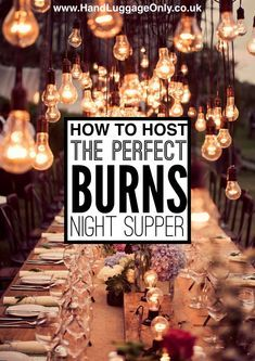 Scottish Cuisine: How To Host The Perfect Burns Night Supper (6)