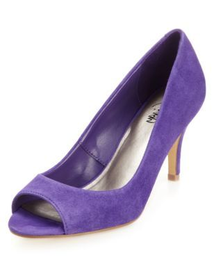 Marks and Spencer.  Purple court shoe