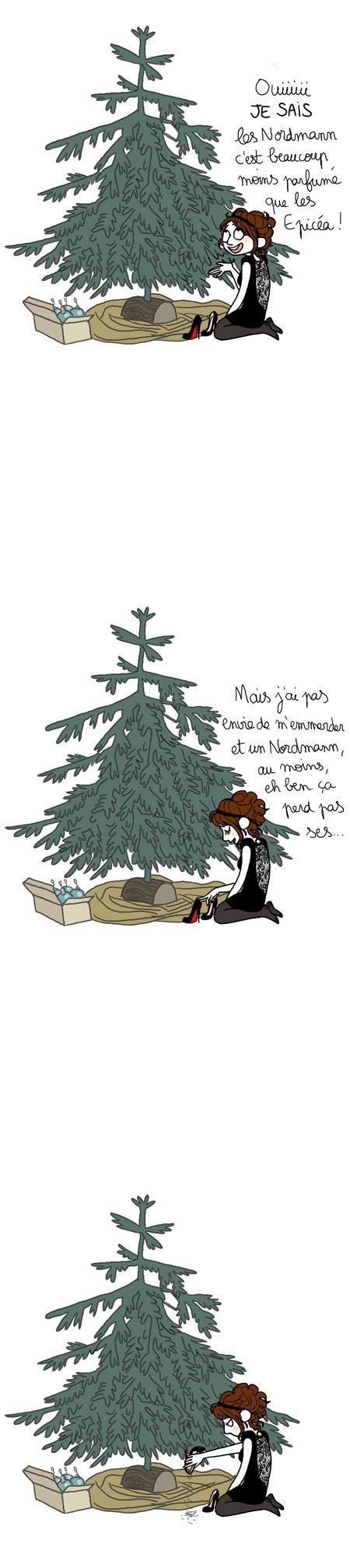 Joyeux  Noël par Pénélope Bagieu.