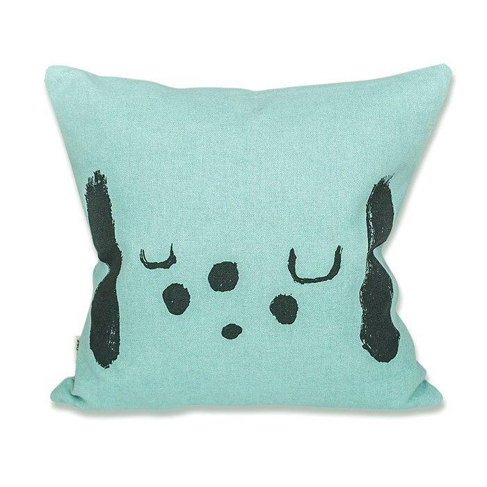 Fred cushion cover for kids bedroom by Elisabeth Dunker for Fine Little Day