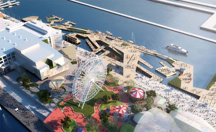aedas + martha schwartz partners: chicago navy pier proposal