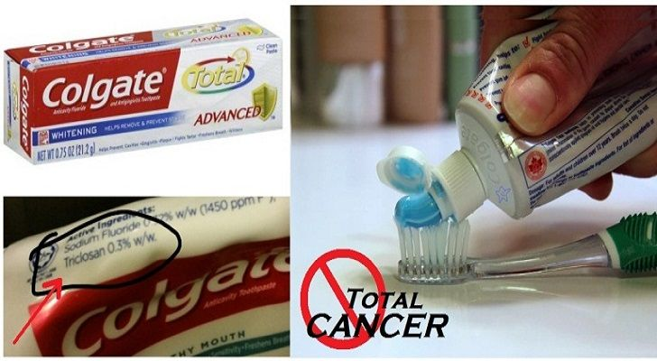 Colgate Toothpaste Found To Contain Cancer Causing Triclosan