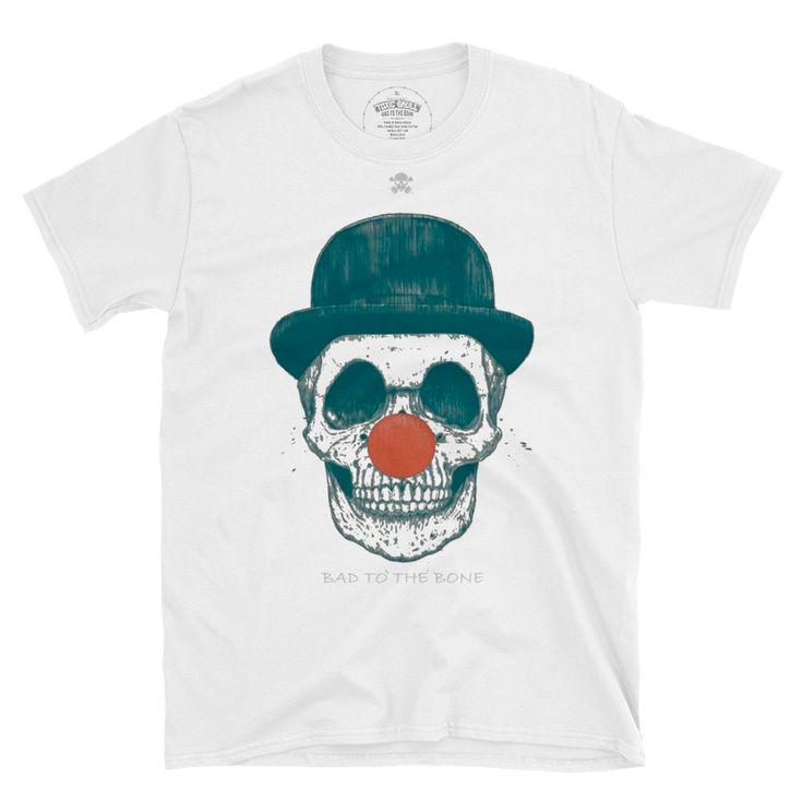 clown skull.