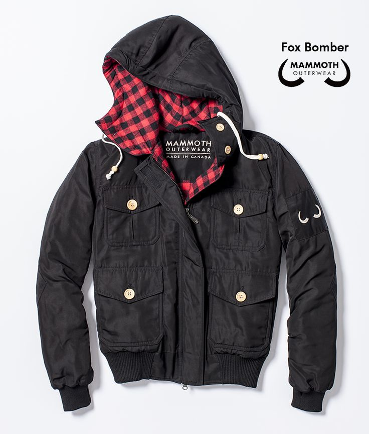 The Fox Bomber available through our #Kickstarter campaign at https://www.kickstarter.com/projects/995157698/mammoth-outerwear
