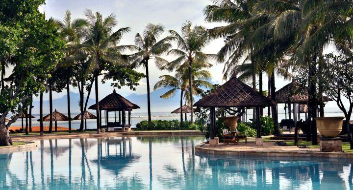 Conrad Bali Resport en Spa, luxueus genieten op het eiland van de Goden en Demonen. Subliem uitzicht