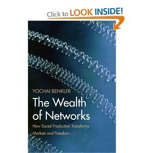 The Wealth of Networks - perhaps the most thoughtfull treatise on how the network information age affects all aspects of our democratic economic markets.