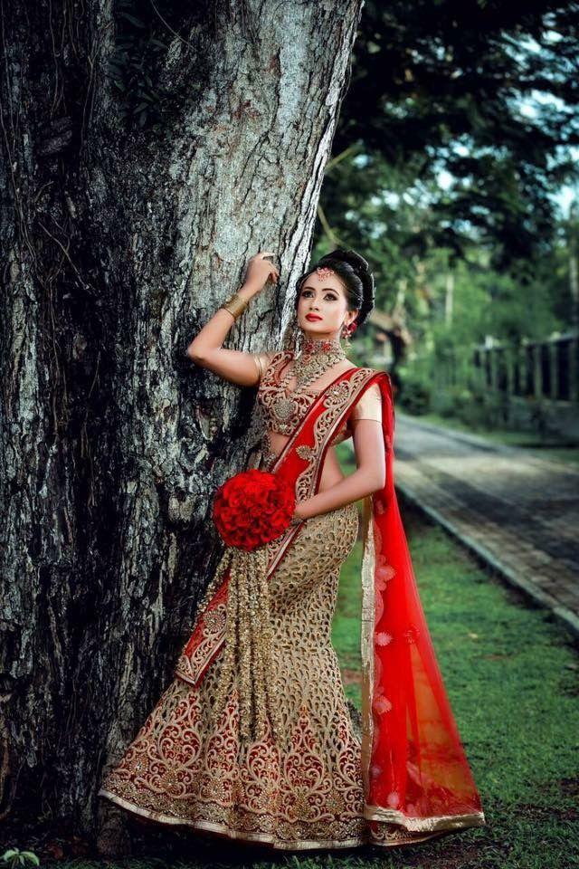529 best sri lankan bridal styles images on pinterest for Sri lankan wedding dress