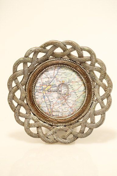 engagement ring holder frame ring holder by KakiesCraftery on Etsy, $55.00