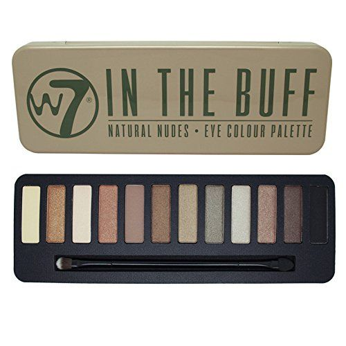 W7 In The Buff Natural Nudes Eyeshado…