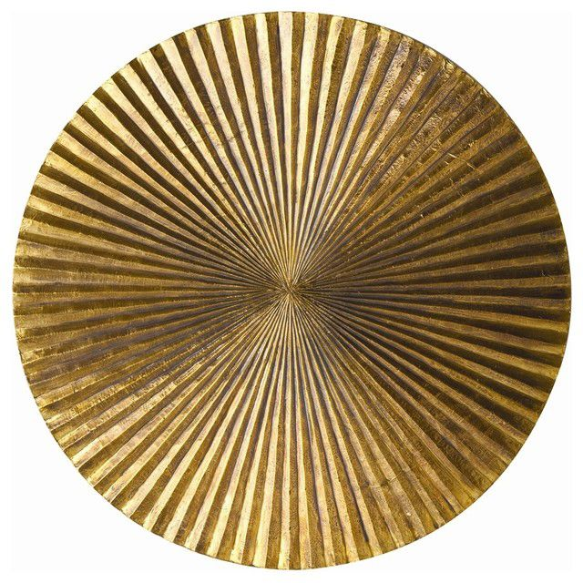 Empire Brass Wall Plaque Available in SM,MED, LGE Fold Living / Artwork