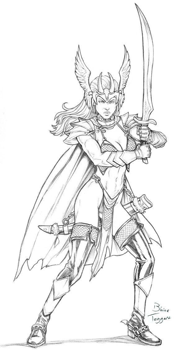 797 besten lineart hero sword  sorcery bilder auf