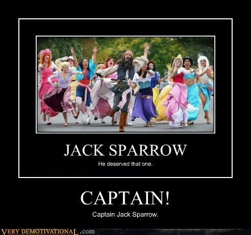 Captain! Captain Jack Sparrow!