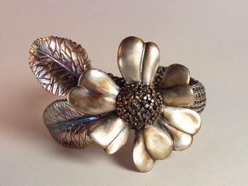 Magnolia Cuff by Nancy L T Hamilton, via Flickr