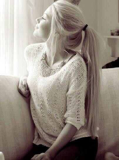 Long blond hair can't wait for my hair to be this long