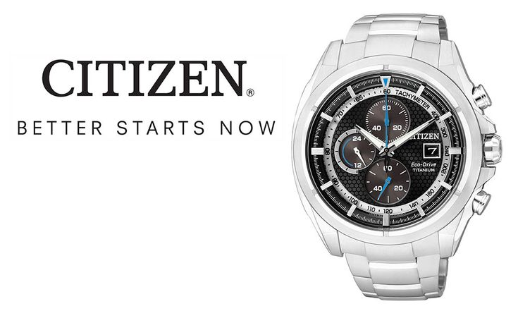 To stay ahead of the times, CITIZEN enters into a new chapter of watchmaking craftsmanship by fusing leading-edge technologies with the pursuit of ideal beauty. Since its foundation in 1930, CITIZEN has spearheaded a revolution of innovation in watchmaking. Among its prominent achievements is Eco-Drive, an original light driven technological breakthrough. Progressive Eco-Drive technology harnesses...