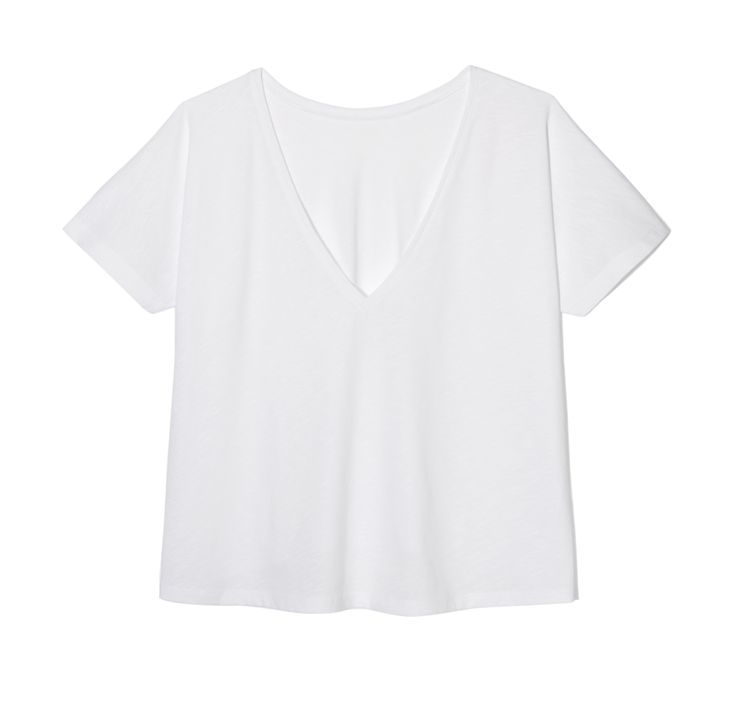 THE ODDER SIDE White T-shirt with open back. Shop at www.theodderside.com