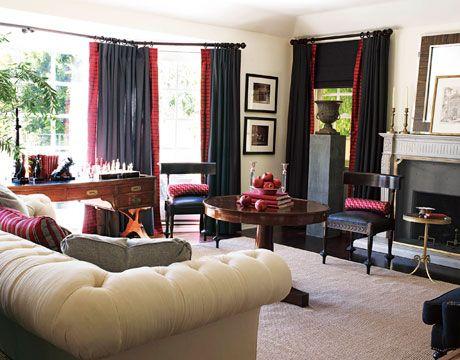 Designer Living Rooms, Living Room Designs, Living Room Ideas, Room  Decorating Ideas, Interior Decorating, House Beautiful, Beautiful Love, ...