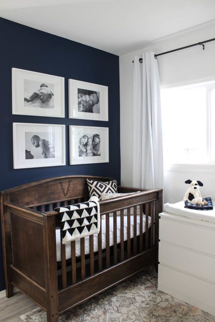 A Small Modern Nursery My Colour Journey With Para Paint Love Create Celebrate Small Baby Room Nursery Baby Room Brown Crib