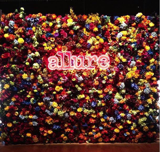 Allure Step Amp Repeat Flowers Neon Backdrops Work